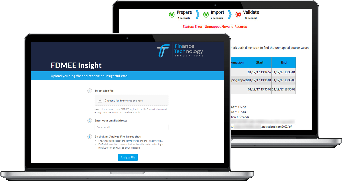 FDMEE Insight analyzes FDMEE Logs - Try it now
