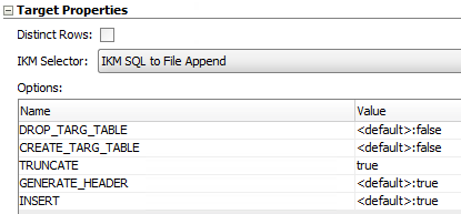 IKM SQL to File Append